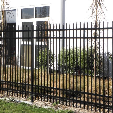 aluminium security fence