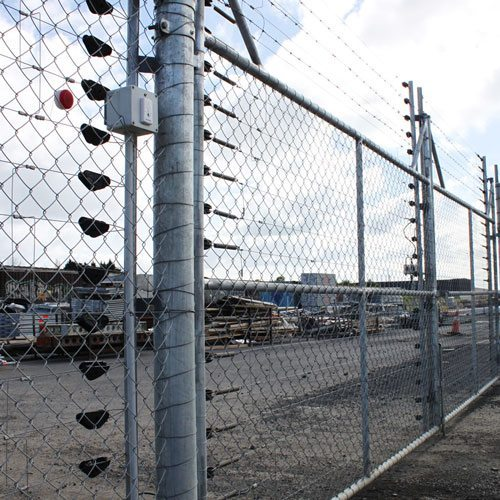 hotfence electric security swing gate WCS