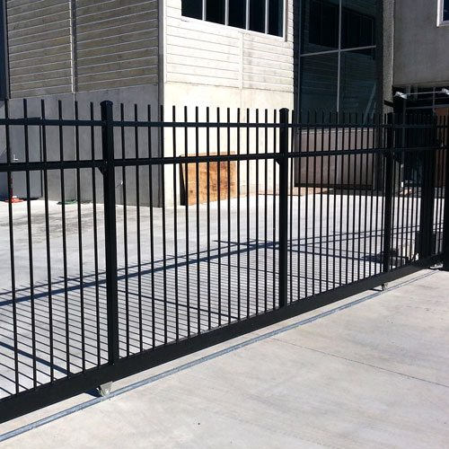 security sliding gate installed by WCS