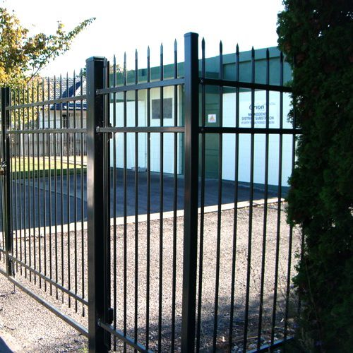 steel security fences by WCS