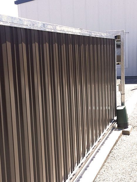 Single, double, sliding or automated custom gates by WCS