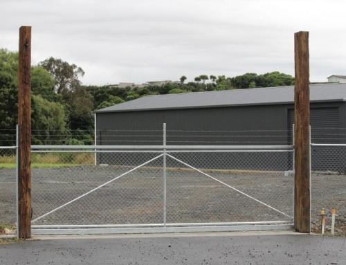 Commercial Security Fencing – Raglan Scaffold – Industrial Park