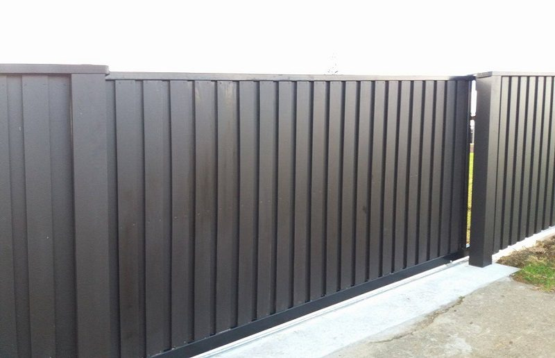 Custom Racking Sliding Gate Waikato Wilson Contractor