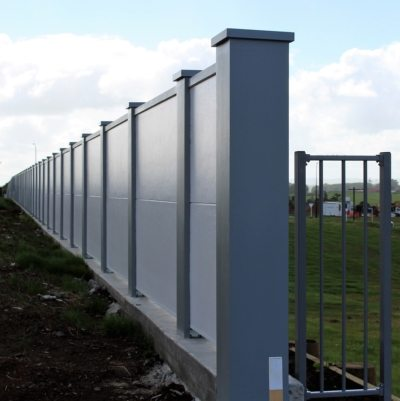 Two tone BelAire fence