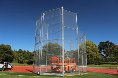 10mtr high commercial gates for Hammer Throw Cage