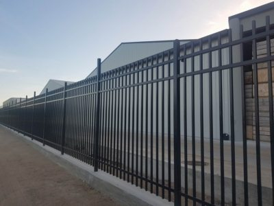 Commercial Security Secure panel black - WCS Fencing 2