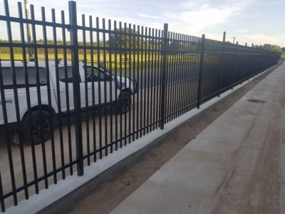 Mowing strip - WCS Fencing