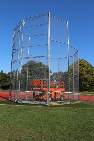 Porrit Stadium Hammer Throw Gates