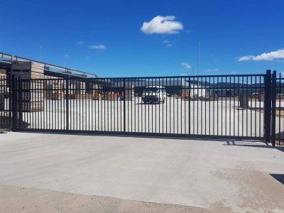 9mtr inverted track sliding gate