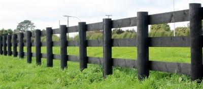 Post-rail-timber-painted-ebony