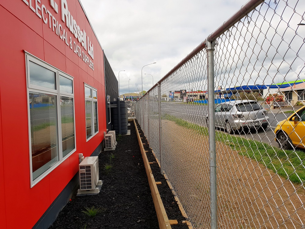 Commercial Security Chainlink Fence